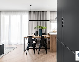 Black Cube - Jadalnia, styl minimalistyczny - zdjęcie od DoMilimetra - Homebook