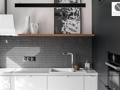 Aranżacje wnętrz - Kuchnia: Black Cube - Kuchnia, styl nowoczesny - DoMilimetra. Przeglądaj, dodawaj i zapisuj najlepsze zdjęcia, pomysły i inspiracje designerskie. W bazie mamy już prawie milion fotografii!