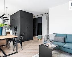 Black Cube - Salon, styl minimalistyczny - zdjęcie od DoMilimetra - Homebook