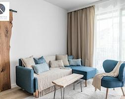 Living Coral - Salon, styl nowoczesny - zdjęcie od DoMilimetra - Homebook