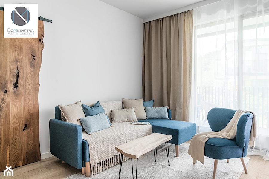 Living Coral - Salon, styl nowoczesny - zdjęcie od DoMilimetra