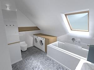 Łazienka - nowoczesna skandynawia