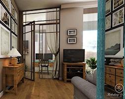 PARIS - Średni beżowy salon, styl prowansalski - zdjęcie od Kołodziej & Szmyt