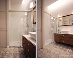 PARIS - Średnia łazienka w domu jednorodzinnym, styl prowansalski - zdjęcie od Kołodziej & Szmyt