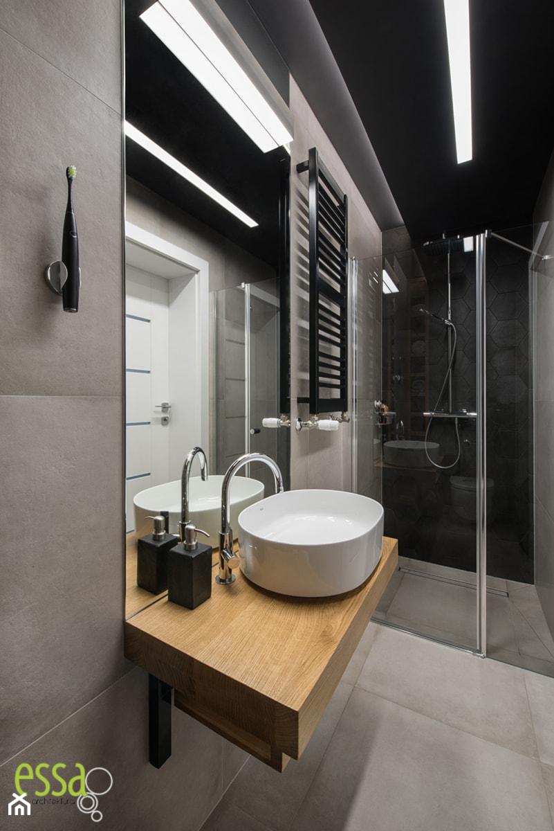 Dom W Małych Wilczycach Realizacja Mała łazienka W Bloku
