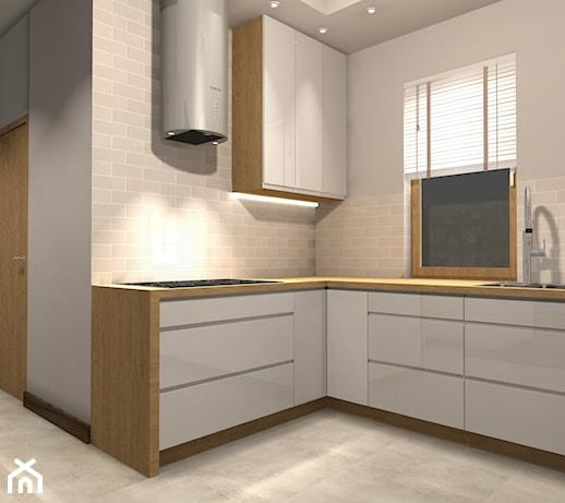 Kuchnia, Łódź, Jozefów  zdjęcie od projekwnętrze -> Kuchnia Gazowa Lodz
