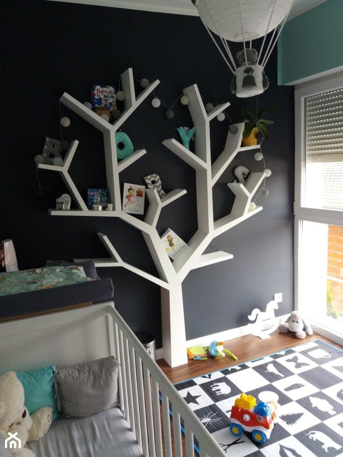 Aranżacje wnętrz - Pokój dziecka: Półka jak drzewo 210x170x18cm - Inspirujace półki. Przeglądaj, dodawaj i zapisuj najlepsze zdjęcia, pomysły i inspiracje designerskie. W bazie mamy już prawie milion fotografii!