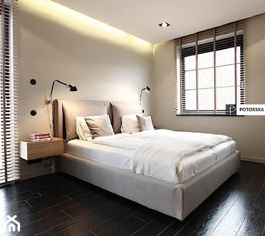 D Interiors Mała Sypialnia: Duża Sypialnia Małżeńska, Styl Nowoczesny