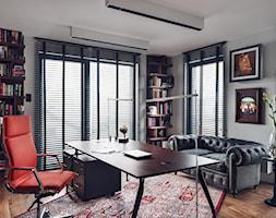Wielkomiejski Eklektyzm - apartament 120 m2 Gdynia - Gabinet, styl nowoczesny - zdjęcie od studio POTORSKA