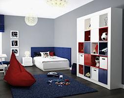 Projekt wnętrz domu - Średni szary pokój dziecka dla chłopca dla malucha, styl nowoczesny - zdjęcie od ARCHISSIMA