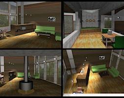 Salon, styl industrialny - zdjęcie od AMPaszkowska projektowanie wnętrz - Homebook