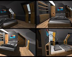 wnętrza mieszakalne - Sypialnia, styl nowoczesny - zdjęcie od AMPaszkowska projektowanie wnętrz - Homebook