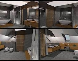 Kuchnie i łazienki - Łazienka, styl nowoczesny - zdjęcie od AMPaszkowska projektowanie wnętrz - Homebook