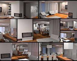 wnętrza mieszakalne - Nowoczesne domy, styl nowoczesny - zdjęcie od AMPaszkowska projektowanie wnętrz - Homebook