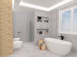 Łazienka - zdjęcie od WNĘTRZNOŚCI Projektowanie wnętrz i mebli Aneta Stokowska