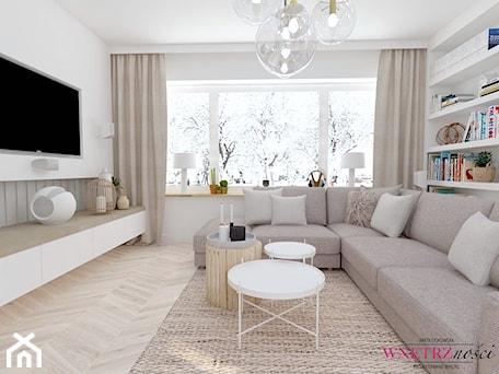 Aranżacje wnętrz - Salon: Dom w Orliczkach - Salon, styl nowoczesny - WNĘTRZNOŚCI Projektowanie wnętrz Aneta Stokowska. Przeglądaj, dodawaj i zapisuj najlepsze zdjęcia, pomysły i inspiracje designerskie. W bazie mamy już prawie milion fotografii!
