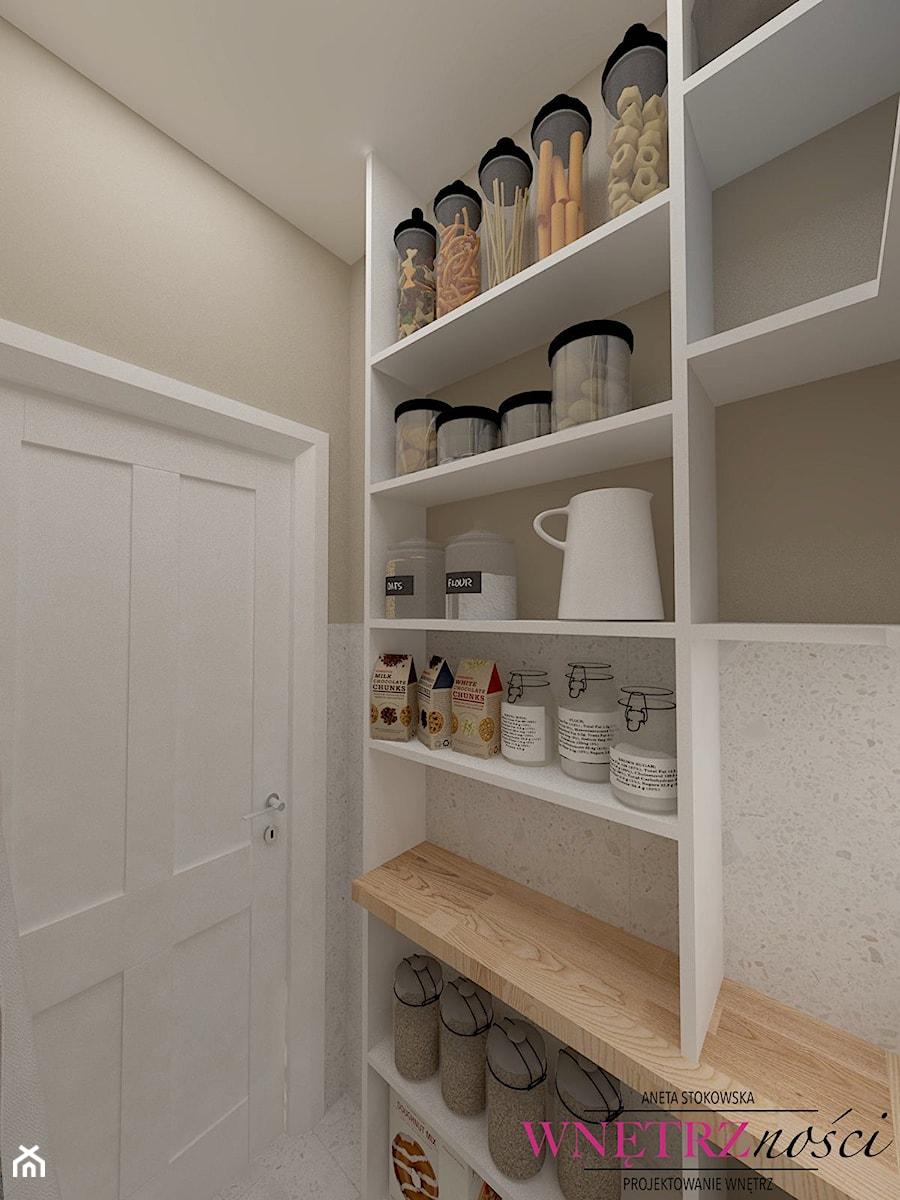 Dom w Orliczkach - Kuchnia, styl nowoczesny - zdjęcie od WNĘTRZNOŚCI Projektowanie wnętrz Aneta Stokowska