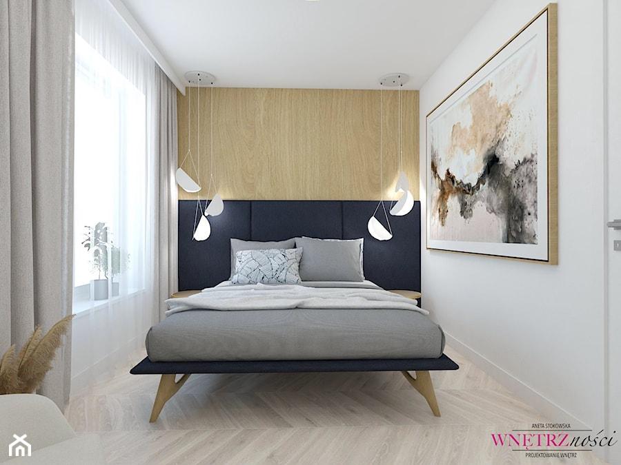 SEGMENT PRUSZKÓW - Sypialnia, styl nowoczesny - zdjęcie od WNĘTRZNOŚCI Projektowanie wnętrz Aneta Stokowska