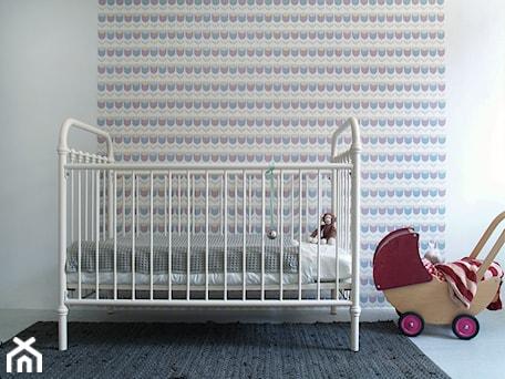 Dekoracje ścian dla dzieci - Mały pastelowy różowy pokój dziecka dla chłopca dla dziewczynki dla niemowlaka, styl vintage - zdjęcie od RAMARAMA - Ściana & Dekoracje