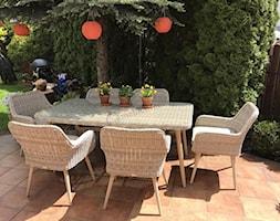 Meble ogrodowe stołowe - Ogród, styl skandynawski - zdjęcie od meblobranie.pl - Homebook
