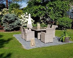 Meble ogrodowe stołowe - Ogród, styl tradycyjny - zdjęcie od meblobranie.pl - Homebook