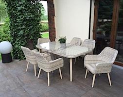 Meble ogrodowe stołowe - Taras, styl skandynawski - zdjęcie od meblobranie.pl - Homebook