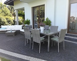 Meble ogrodowe stołowe - Taras, styl tradycyjny - zdjęcie od meblobranie.pl - Homebook