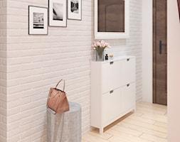 Mieszkanie Łódź - Hol / przedpokój, styl rustykalny - zdjęcie od APkwadrat