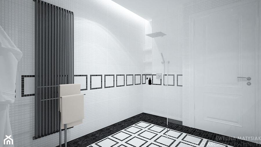 Clever Elegance - Średnia łazienka w bloku w domu jednorodzinnym bez okna, styl glamour - zdjęcie od Ewelina Matysiak