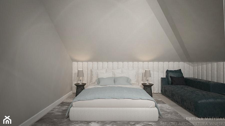Clever Elegance - Sypialnia, styl nowoczesny - zdjęcie od Ewelina Matysiak
