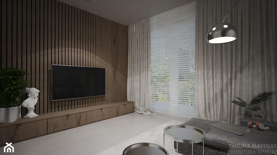 Mieszkanie w Warszawie - Salon, styl nowoczesny - zdjęcie od Ewelina Matysiak