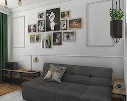 """rozkładana sofa w gabinecie - zdjęcie od Studio Architektury Wnętrz """"rychtownia"""" - Homebook"""