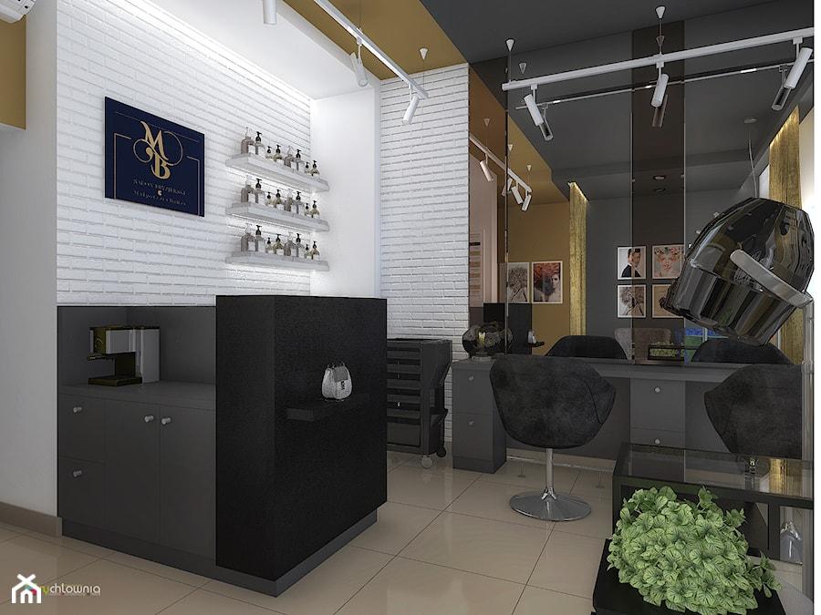 """Salon fryzjerski - Wadowice - zdjęcie od Studio Architektury Wnętrz """"rychtownia"""""""