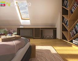 """* sypialnia na poddaszu * - zdjęcie od Studio Architektury Wnętrz """"rychtownia"""""""
