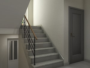 """granitowe schody - zdjęcie od Studio Architektury Wnętrz """"rychtownia"""""""