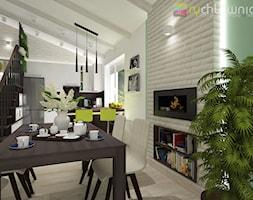 """przestronna jadalnia - zdjęcie od Studio Architektury Wnętrz """"rychtownia"""""""