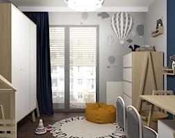 przeprojektowanie mieszkania Kraków Wiślane Tarasy - Pokój dziecka, styl skandynawski - zdjęcie od Creative Interior - Homebook