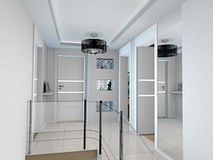 projekt domu w Sidzinie - Schody, styl glamour - zdjęcie od Creative Interior