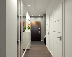 przeprojektowanie mieszkania Kraków Wiślane Tarasy - Hol / przedpokój, styl nowoczesny - zdjęcie od Creative Interior - Homebook