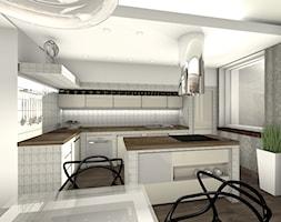 kuchnia murowana aranżacja kuchni w rustykalnym stylu