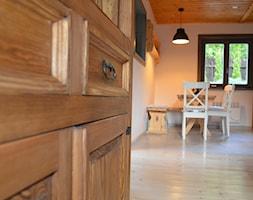 odnowienie domku letniskowego Zawoja - Jadalnia, styl rustykalny - zdjęcie od Creative Interior - Homebook