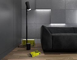 Prosty i nowoczesny pokój dla nastolatka. - zdjęcie od ZELER-DESIGN