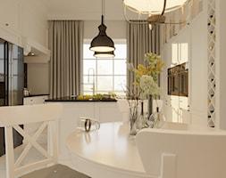 Klasyczna przytulna kuchnia. - zdjęcie od ZELER-DESIGN