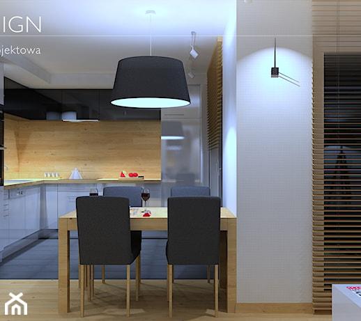 Aranżacja nowoczesnego i funkcjonalnego mieszkania w kolonii zdjęcie od braf design