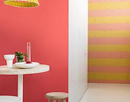 Kolor Roku 2017 - Mała otwarta czerwona jadalnia jako osobne pomieszczenie - zdjęcie od Dulux
