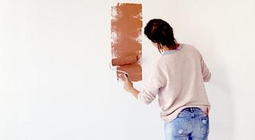 Malujemy ściany - poradnik krok po kroku, główne zasady