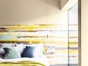 Jak zrobić efektowną ścianę dekoracyjną w pasy?