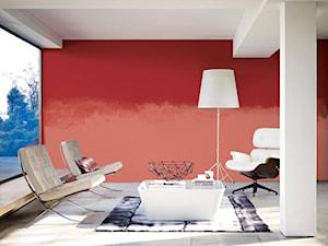 Pokoje dzienne - Duży czerwony salon - zdjęcie od Dulux