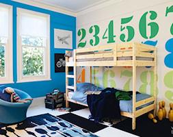 Pokoje dla dzieci i młodzieży - Średni pokój dziecka dla chłopca dla rodzeństwa dla malucha, styl tradycyjny - zdjęcie od Dulux