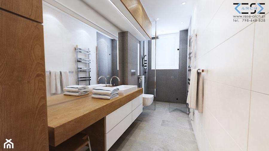 Długa I Wąska łazienka Zdjęcie Od Rese Architekci Studio